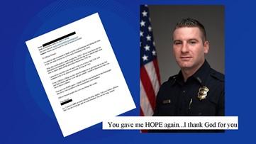 'I thank God for you' | Homeless man pens heartfelt letter to police officer
