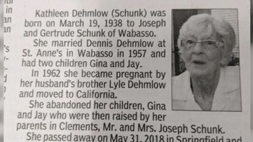 This obituary is unbelievable