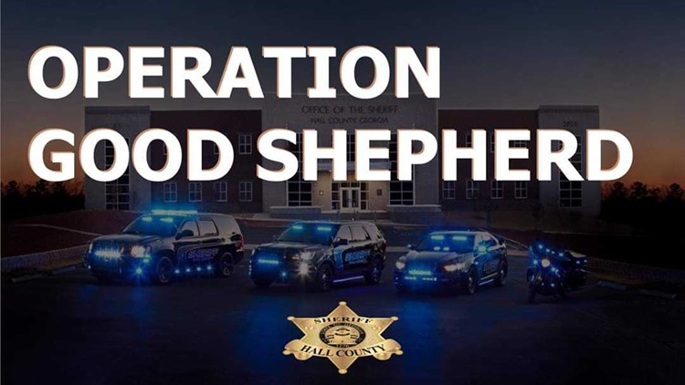 Operation Good Shepherd: 10 arrested in Hall County child predator sting