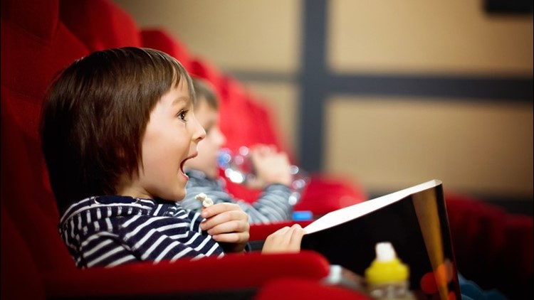 Watch a movie and get a free popcorn every Tuesday