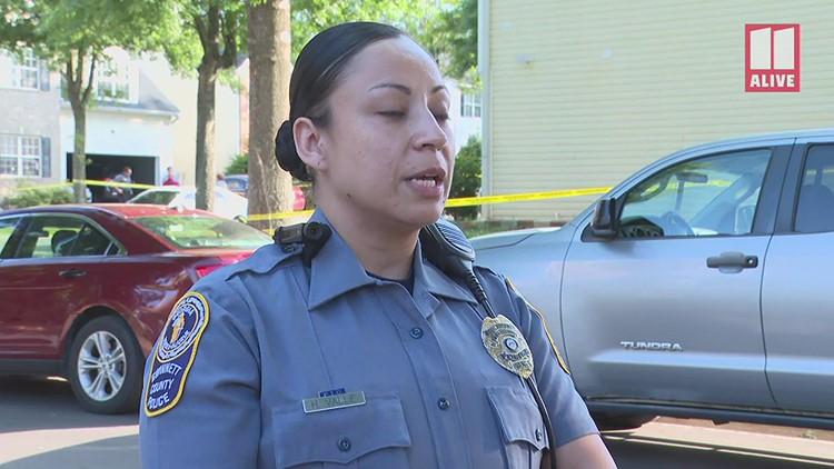 Gwinnett Police provide update on man, woman found shot dead in driveway