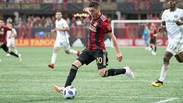 MLS Playoffs: Atlanta United blank NYCFC in Game 1 of semifinal series
