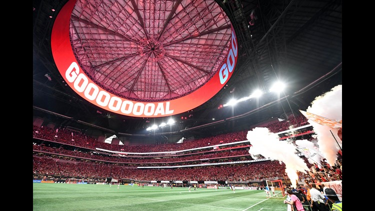Mercedes Benz Of Orlando >> Atlanta United draws bigger crowd at MB Stadium than World Cup games | 11alive.com