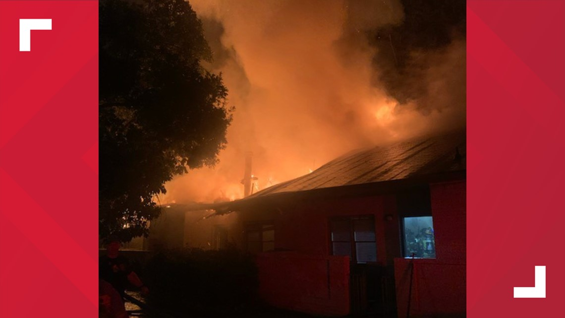 7 people, including three children, displaced by Lawrenceville fire