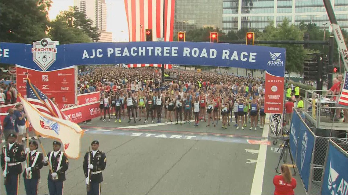 RESULTS | 2018 AJC Peachtree Road Race | 11alive com