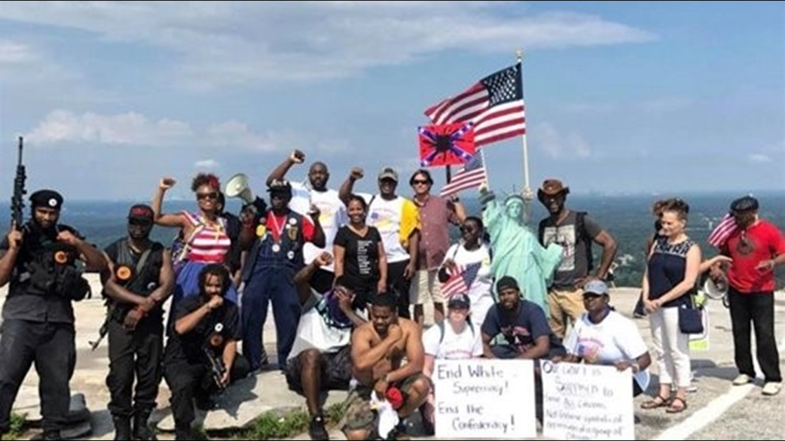 politics collide on independence day around stone mountain