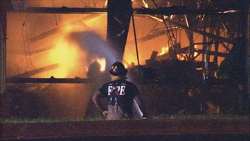 'The building collapsed on itself' | Fire destroys Carrollton plastics plant