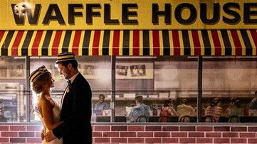 Couple's Waffle House wedding photos hold a special meaning