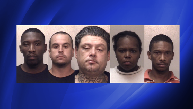 GBI task force drug raid catches five in Newnan | 11alive com