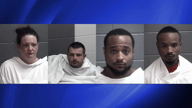 Five arrested in two separate drug busts in Griffin