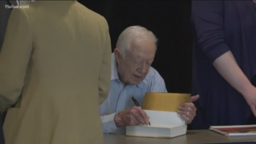 Jimmy Carter honored with award for contributions in US, China relations