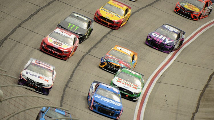 Ryan Blaney wins at Atlanta after Kyle Larson fades on old tires