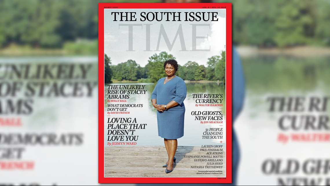 Stacey Abrams On The Cover Of Time Magazine S Special