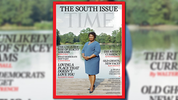 Stacey Abrams on the cover of TIME Magazine's special South issue