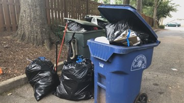 Here's what Atlanta city officials have to say about the trash collection issues