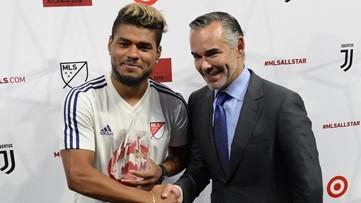 Hometown hero: Josef Martinez claims MVP honors at MLS All-Star Game