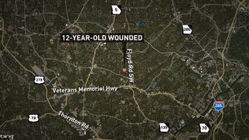 12-year-old in critical condition after Friday night Mableton shooting