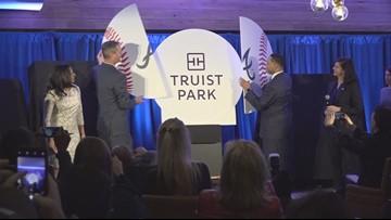 Atlanta Braves unveil name of Truist Park