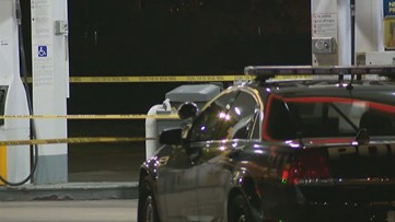 1 found dead at gas pump, 2 others injured in shooting
