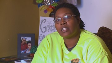 'They're giving people a chance.' She couldn't get work because of her past, until now.
