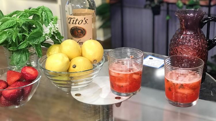Garden Cocktail Recipes