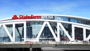 This is the new name for Philips Arena