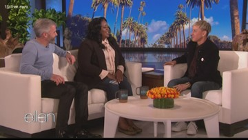 He paid off his Uber driver's school debt so she could graduate. Ellen rewarded the Atlanta man's good deed
