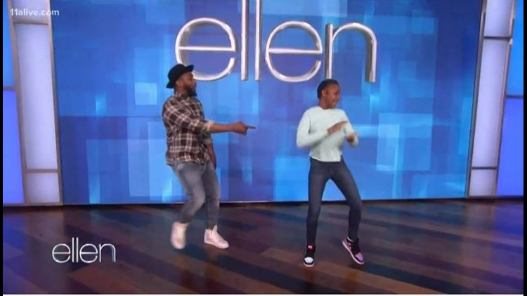This Atlanta girl is the creator behind the viral 'Renegade' Dance. Ellen has a big surprise for her.