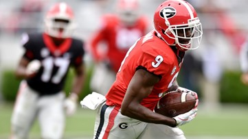 UGA dismisses star wide receiver Jeremiah Holloman amid domestic violence investigation
