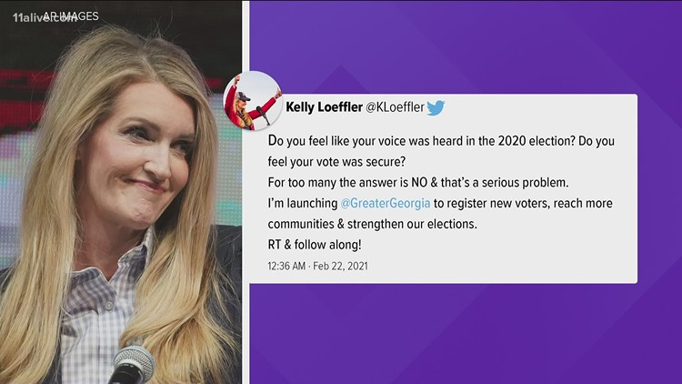 Kelly Loeffler starts voter rights organization to rival Stacey Abrams, Democrats