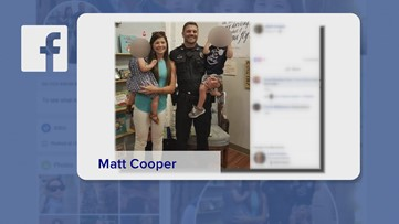 Covington police officer shot in head mouthed 'I love you' to wife in hospital