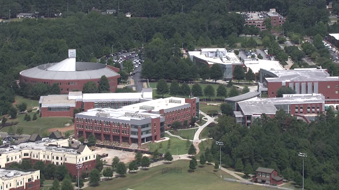 Map Of Georgia Gwinnett College.Georgia Gwinnett College Orders Soft Lockdown After Nearby Robbery