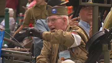 WWII paratrooper born on Fourth of July dies 96 years later