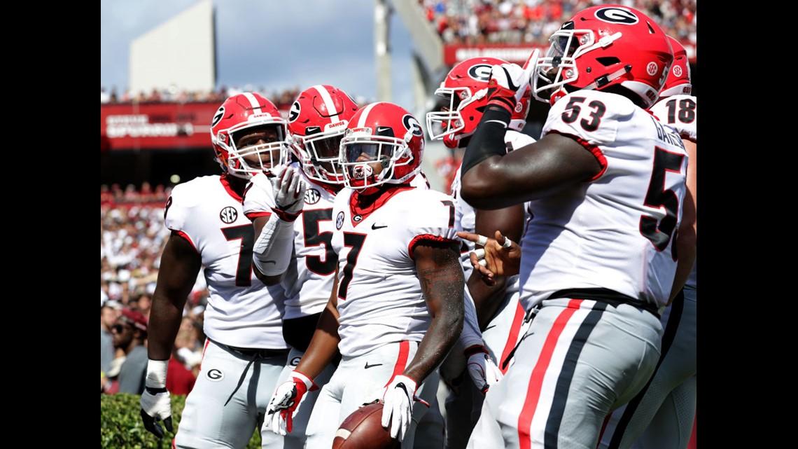 Week 2: UGA crushes South Carolina on the road | 11alive com