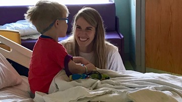 Olympians, Paralympians visit young cancer patients at Children's Healthcare of Atlanta