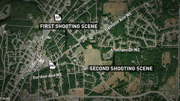 Multiple shootings in Rome early Sunday morning leave 1 dead, 3 wounded