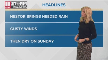 Saturday morning weather forecast - Oct 19 2019