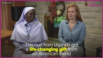 After being pen pals for years, woman invites Ugandan nun to her wedding