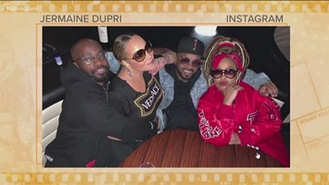 Mariah Carey spotted partying in Buckhead