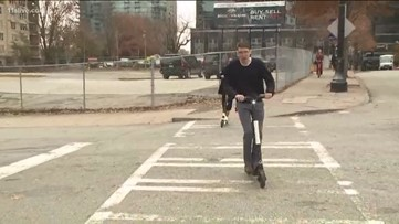 Tucker implements temporary ban on e-scooters