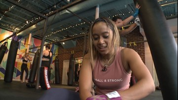 Atlanta woman uses social media to connect, inspire people through fitness