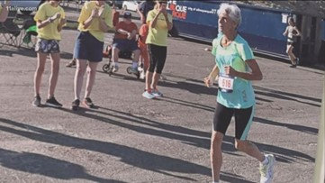 85-year-old gold medal runner from Georgia in national spotlight
