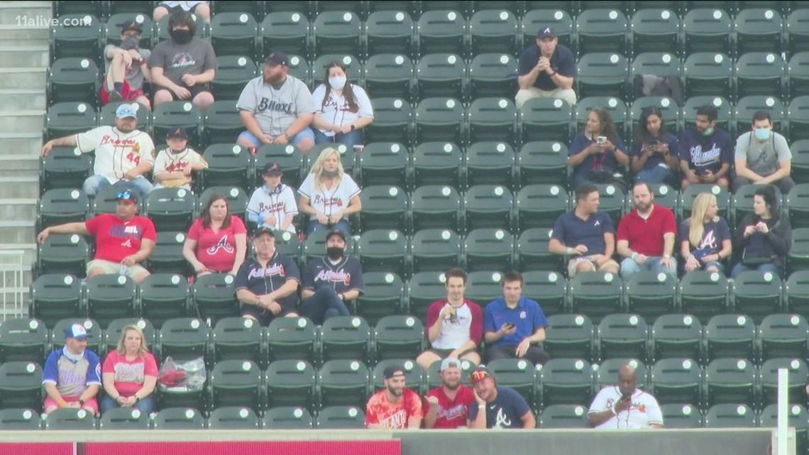 Atlanta Braves fans return to Truist Park for home opener