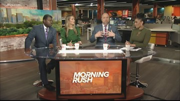 Morning Rush anchors discuss Olympics restricting protests