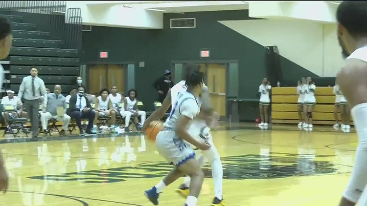 #Team11 highlights from Born to Compete: Westlake vs Langston Hughes, 2/5/21