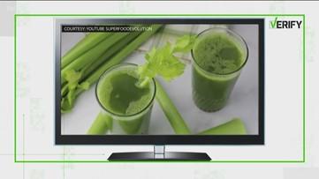 Verify: Is celery juice the latest cure-all?