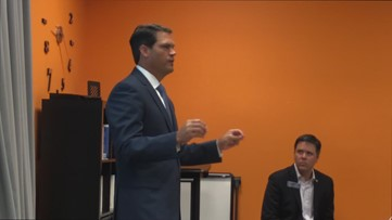 State leader speak to small business owners
