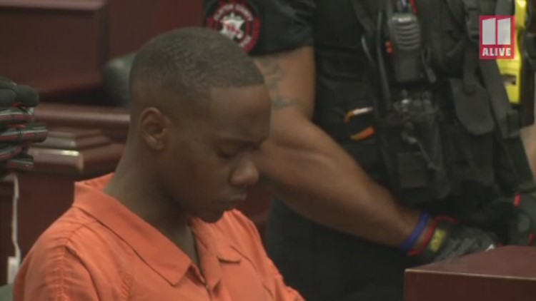 Accused serial rapist Kenneth Thomas Bowen III in court