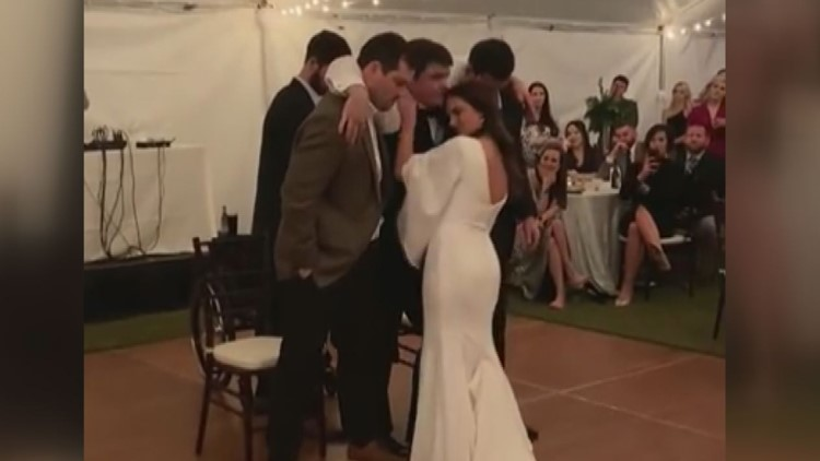 Chance Molly Veazey Wedding Dance