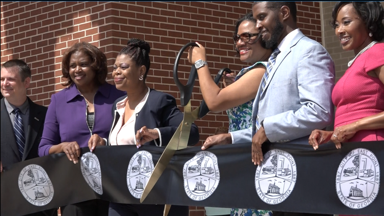 The City of East Point unveils new city hall